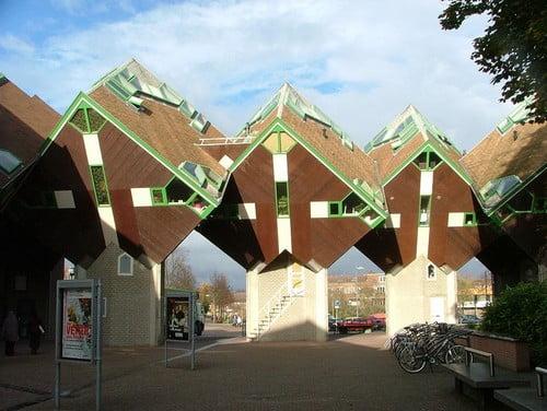 tòa nhà Cube Houses in Helmond  TOPMOST.VN