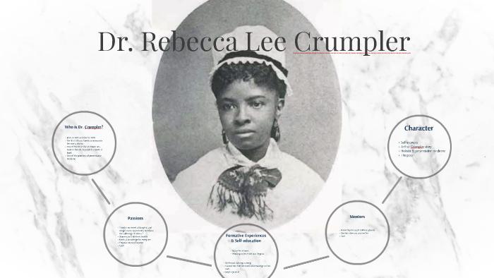 Nữ bác sĩ Rebecca Lee Crumpler  TOPMOST.VN