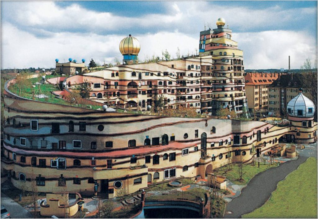 tòa nhà forest spiral by hundertwasser the unique house in germany 5  TOPMOST.VN