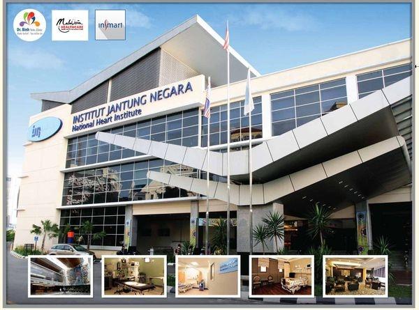 Viện Jantung Negara - Viện tim mạch tốt nhất Malaysia