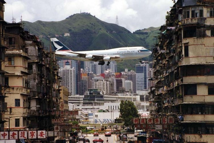 Sân bay Kai Tak Airport  TOPMOST.VN