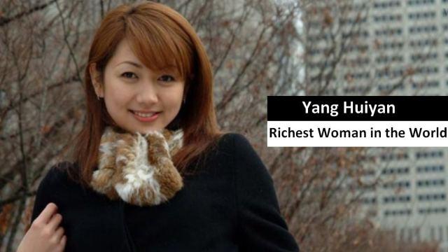 phụ nữ Yang Huiyan richest woman  TOPMOST.VN