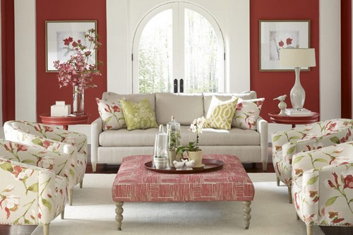 thiết kế nội thất flower pattern |TOPMOST.VN