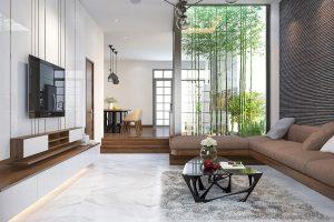 thiết kế nội thất phong thuy khi trang tri noi that biet thu nha vuon |TOPMOST.VN